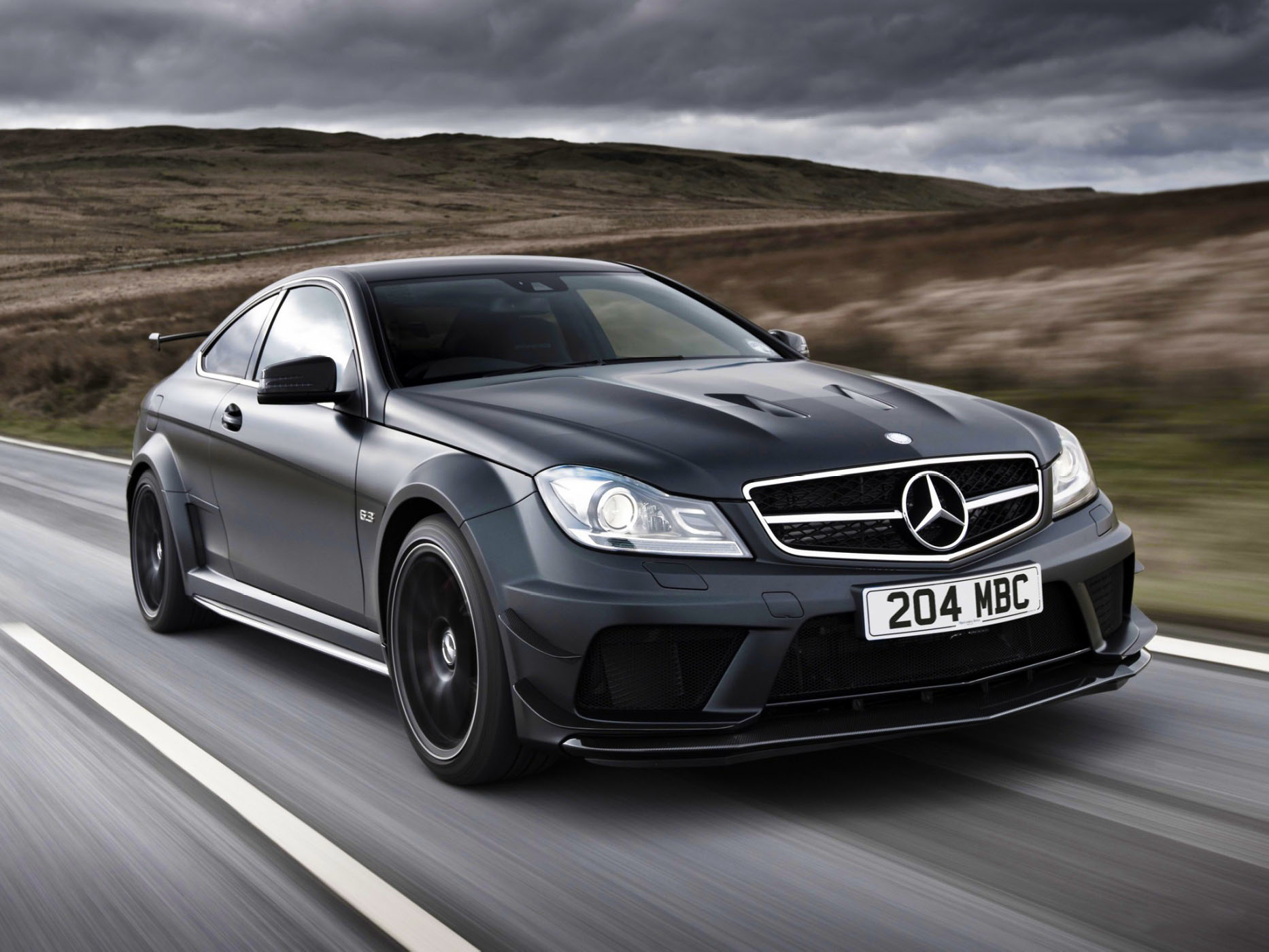 C63 2014 special autos post for Mercedes benz c63 amg black edition