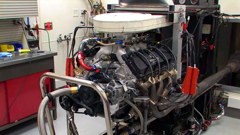 Ford FR9 Race Engine