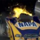 Ron Capps Funny Car Explosion