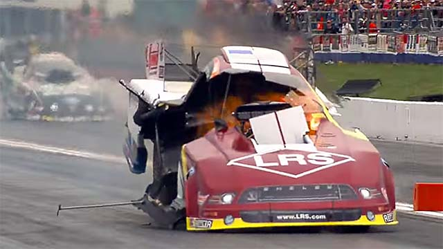 Incredible Crashes From The Nhra Southern Nationals