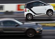 Smart Car Wheelie