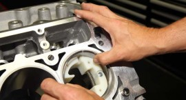 New Ring Squaring Tool Makes Engine Assembly with Low Tension Rings More Accurate