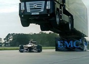 18 Wheeler Jumping F1 Car