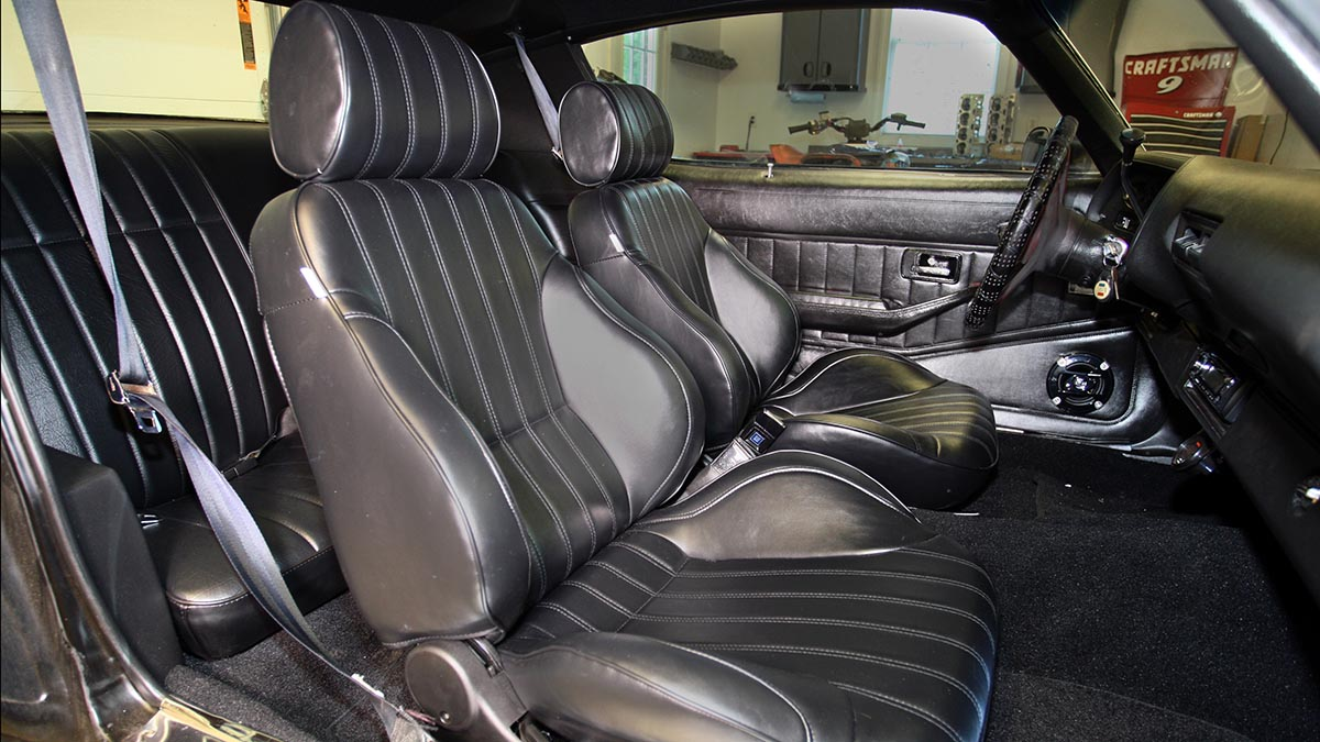Better Than New Rebuilding The Interior On The Horsepower