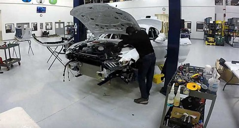 Watch this Ford Cobra Jet Being Built from Scratch