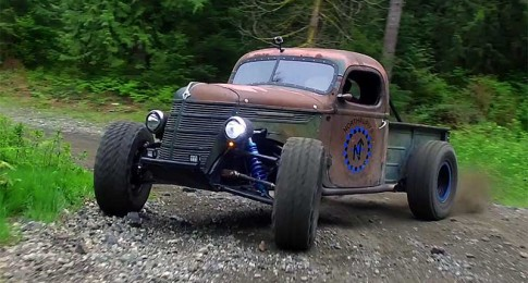 The World's First Rat Rod Trophy Truck