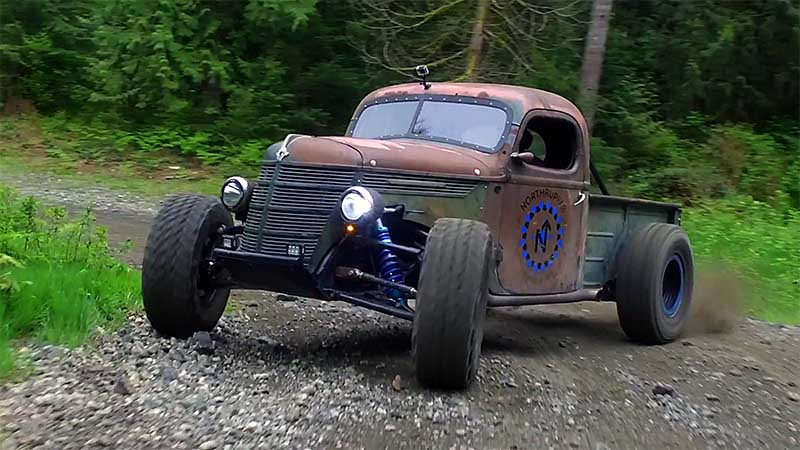 Ranch Jeep >> The World's First Rat Rod Trophy Truck - Horsepower Monster