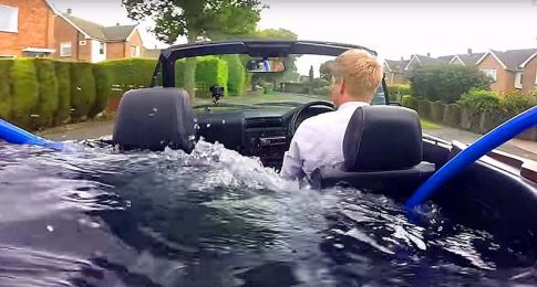 The Ultimate Hot Tub/Luxury Car
